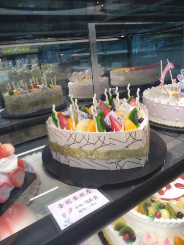 新型水果蛋糕